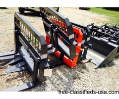 Universal skid steer forks new!
