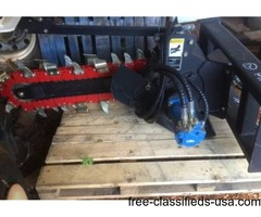 48inch Skidsteer trencher brand new