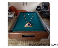 Billiards Table