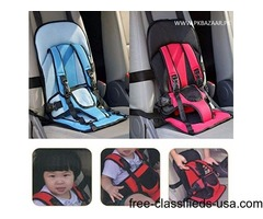 Multi Function Baby Travel Car seat Cushion Seat with safety belt