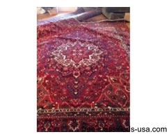 Ca 1930 antique Persian rug x3