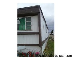 2 beds 1 bath mobile home for sale