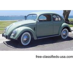 1952 Volkswagen Beetle Classic