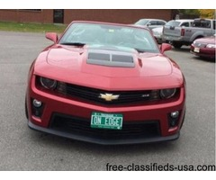 Chevrolet: Camaro Zl1
