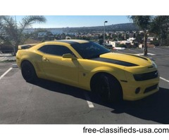 Chevrolet: Camaro 2ss Transformers Edition