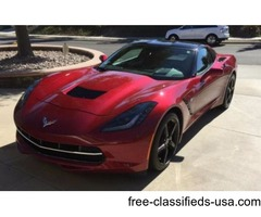 2015 Chevrolet Corvette 2lt Package