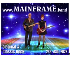 MAINFRAME Classic Rock Duo Band in Florida