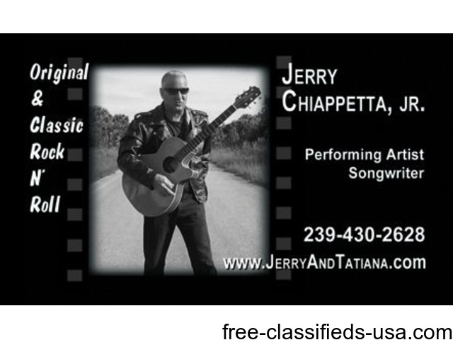 Solo CLASSIC ROCK Guitarist & Singer For Your Next Event