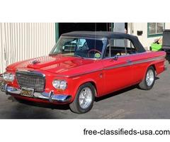 1963 Studebaker Supercharged Daytona Convertible