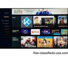 Amazon Fire TV Stick w/Kodi