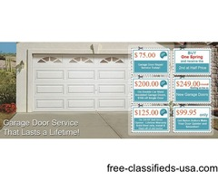 Garage Door Repair Company in New York
