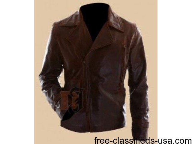Captain America the First Avenger Motorcycle Leather Jacket | free-classifieds-usa.com