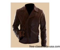 Captain America the First Avenger Motorcycle Leather Jacket