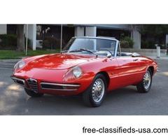 1967 Alfa Romeo Duetto Spyder