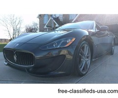 Beautiful 2014 Maserati Gran Turismo Sport