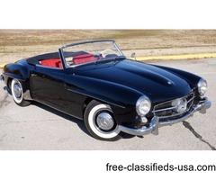 1958 Mercedes-Benz SL190 Roadster