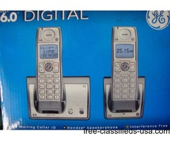 GE Phone system, 2 handset 6.0 digital