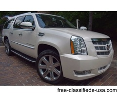 2013 Cadillac Escalade AWD ESV LUXURY-EDITION