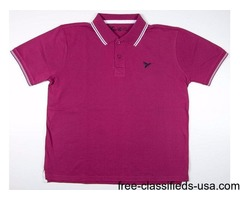 Straight Fit Polo Shirts, Collarless Polo Shirt
