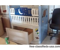 Hand crafted luxury kids crib by Angel