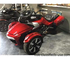 New 2016 Can-Am Spyder F3-T SM6 Motorcycle /Red
