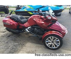 New 2016 Can-Am Spyder F3 Limited Motorcycle in Intense Red Pearl