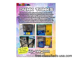 Sale! Dunk Tank for only