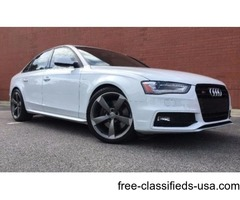 Up for sale is my 2014 Audi S4.