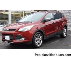 2016 Red Ford Escape SUV I4 Turbocharger in Ravena!