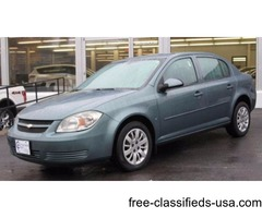 2009 Blue Chevrolet Cobalt Sedan I4 in Ravena! ONLY 58,132 miles!