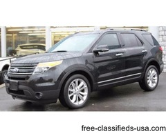 2014 Black Ford Explorer SUV V6 in Ravena! 37k Clean miles!