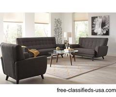 Sofa & Loveseat retro modern style