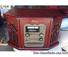 MINT PHONO, CD PLAYER, RADIO, ALL IN ONE