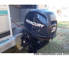 2006 Mercury 25hp Four Stroke