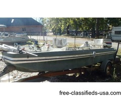 1974 DuckHawk 16ft with 70hp Evinrude
