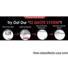 EZ Quote System Available at Big Truck Hoods For Quality