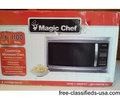 'MAGIC CHEF''STAINLESS STEEL MICROWAVE
