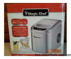 ICE MAKER ''MAGIC CHEF''
