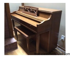Whitney Upright Piano by Kimbell