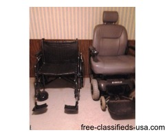 BIGMAN POWER CHAIR & WHEELCHAIR