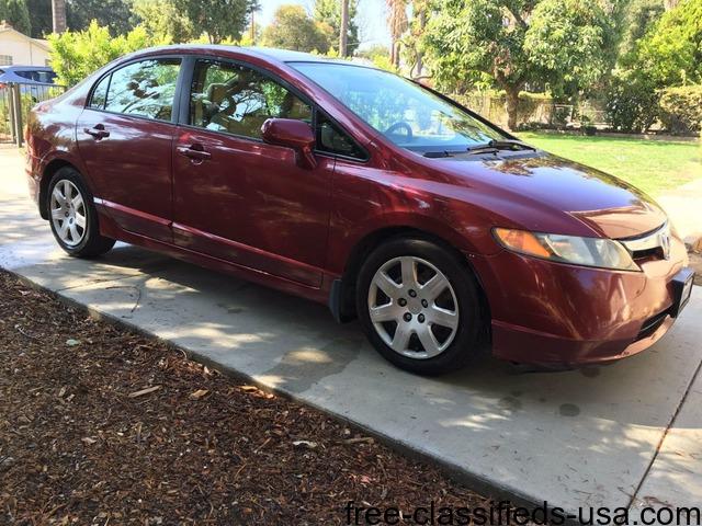 2006 Honda Civic 4 Door Sedan