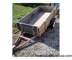 2013 8 foot lawn and garden trailer