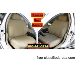 Custom Fit Canvas Seat Covers Fits Lexus