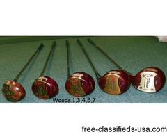 VINTAGE Titleist Women's complete Golf Set