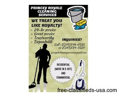 Princey Royale Cleaning Serivices