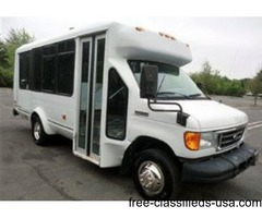 2007 Ford E350 ElDorado Wheelchair Shuttle Bus (A4649)