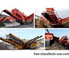 Aggregate Screening Plant/Bigger Crusher Plants/Mobile crusher