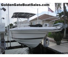 2003, 25' STAMAS 250 TARPON Center Console with Trailer