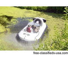 HOVERCRAFT Customized Spraying Models for Algae and Mosquito Control
