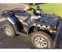 2012 polaris sportsman 550 EFI EPS LE only 580 miles